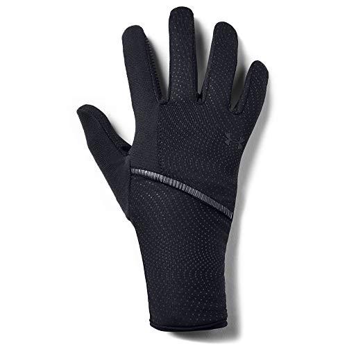 Under Armour Storm Run Liner Glove, Black (002)/Black, Medium (Under Armour Touch Screen Gloves)
