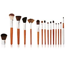 Vanity Planet Palette 15 Piece Professional Makeup Brush Collection