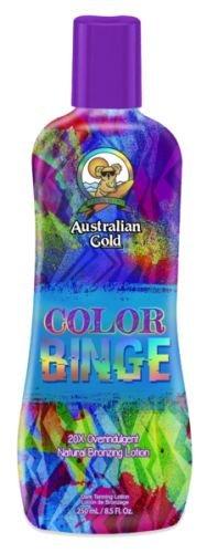 Australian Gold COLOR BINGE 20x Natural Bronzer - 8.5 oz, Tanning Bed (Australian Gold Tanning Bed)