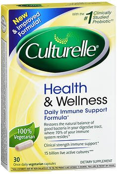 Culturelle Health & Wellness Probiotic Capsules - 30 caplets, Pack of 6 by Culturelle