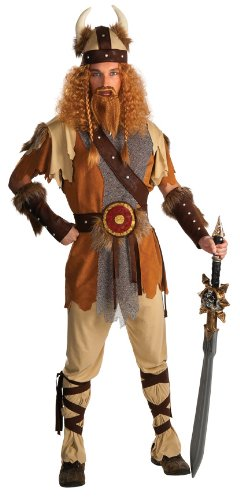 Rubie's Costume Co Viking Warrior Costume, Standard (Halloween Costumes International Shipping)