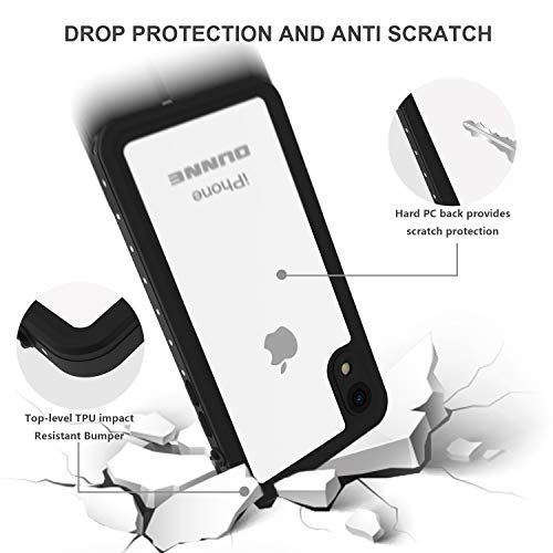 iPhone XR Waterproof Case, OUNNE Full Sealed Underwater Cover Dustproof Snowproof Shockproof Waterproof Phone Case for…