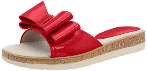 Mules Tozzi Patent Mujer Rojo Marco chili 27120 Para OPxqOEwR