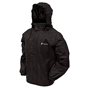 Frogg Toggs Men's All Sports Rain and Wind Suit, Black, Small