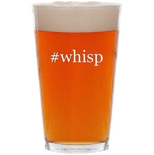 #whisp - 16oz Hashtag Pint Beer Glass -