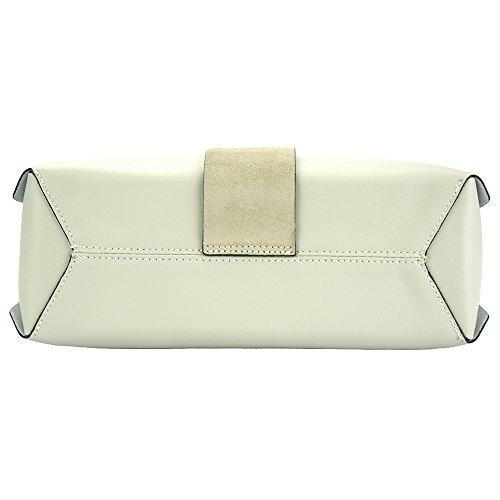 Veritable De À Market Florence 8053 En Beige Rossella Sac Main Leather Vachette Cuir tgwpqzw0