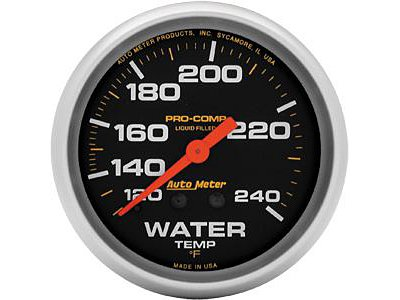 (Auto Meter 5433 Mechanical Liquid Water Temperature Gauge)
