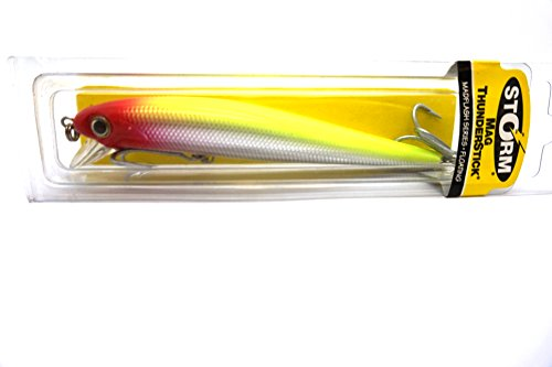 Storm Mag Thunderstick Mad Flash Series 5.5″ Clown Saltwater Lure