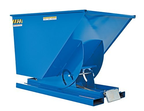 Vestil D-100-LD Light Duty Self-Dumping Hopper with Bumper Release Steel 2000 lb. Capacity Overall L x W x H (in.) 61-1/8 x 41-11/16 x 42-11/16 [並行輸入品]   B07CRW49MM