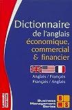dictionnaire de l anglais ?conomique commercial et financier