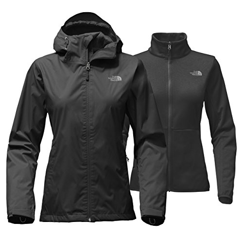 North Face Women's Arrowood Tri-Climate Jacket Black (Large)