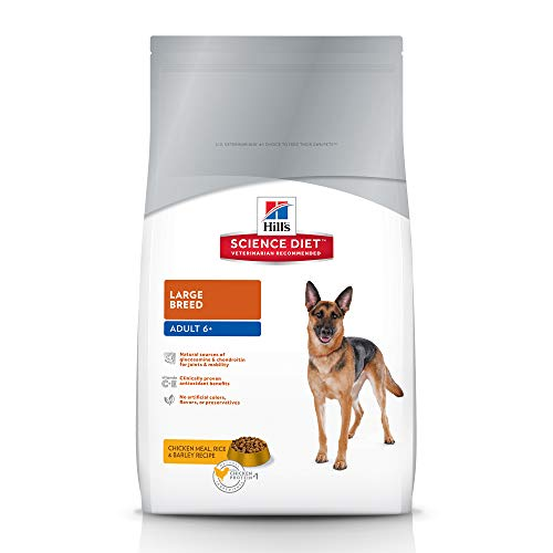 Hill'S Science Diet Senior Dog Food, Adult 6+ Large Breed Chicken Meal Rice & Barley Recipe Dry Dog Food, 33 lb Bag