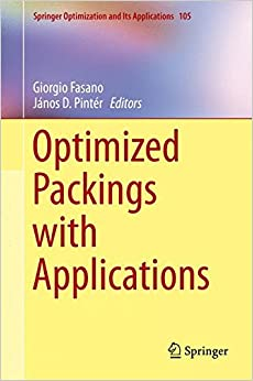 Book Optimized Packings with Applications (Springer Optimization and Its Applications)
