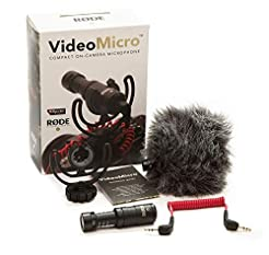Rode VideoMicro Compact On-Camera Microp...