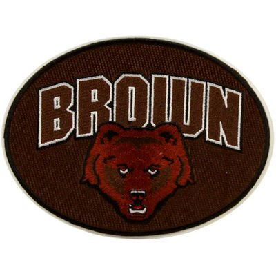 NEW! Brown University Bears Peel & Stick Repositionable Embroidered (Brown University Bears)