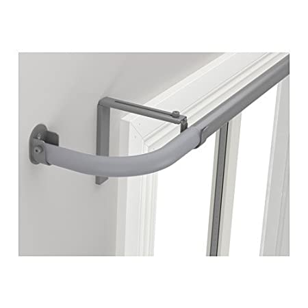 Ikea Hugad Curtain Rod Combination Bay Window Silver Colour
