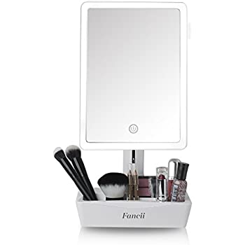 Amazon Com Led Lighted Makeup Mirror With Removable 10x