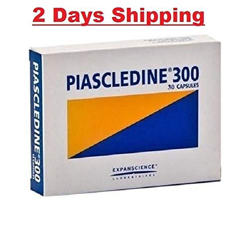 2 x PIASCLEDINE 300 mg-30 Capsules -Total -60 Caps 2-3 Shipping Days exp 6-2021 -