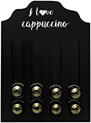 Porta-Cápsula I Love Cappuccino Nespresso Kapos Betume 23X30