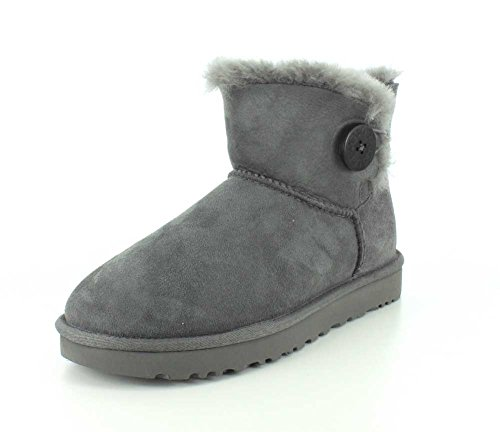UGG Damen Mini Bailey Button Kurzschaft Stiefel