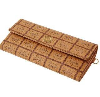 [Q pot Milk biscuits flap Wallet New] (Costume Ng Japan)