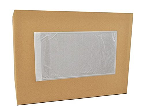 100 Pack Clear Packing List Envelopes 10 x 13 Adhesive Shipping Label Pouches. Shipping document envelopes. 2 mil. Packing slip holder. Adhesive Envelope Sleeve. Back side loading.