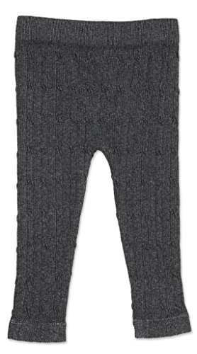 ae1a79bf797f4 Amazon.com : cable cotton infant leggings - dark grey, 12-18m Size: 12-18  Months Color: Dark Grey Model: Baby