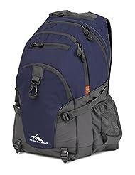 High Sierra 53646-4515 Loop Backpack, True Navy/Mercury, International Carry-On