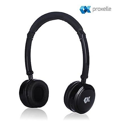 Proxelle - Auriculares para Niños Inalámbricos Bluetooth con Limitador de Volumen Cascos Wireless Infantiles Plegables para