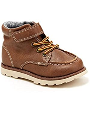 Toddler Boys Carter's Light Brown Hard Sole Boots -- Topeka2