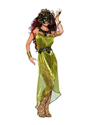 Medusa Women Mask and Snake Armband Set ()