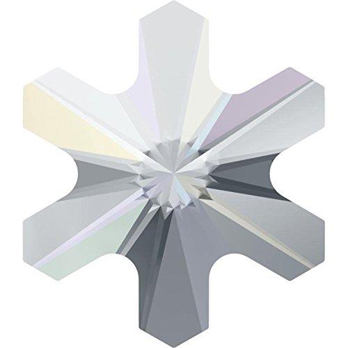 2826スワロフスキーFlatback結晶Hotfix Rivoli Snowflake 5mm - Pack of 720 (Wholesale) 10030254 5mm - Pack of 720 (Wholesale) Crystal AB B076H95LSZ