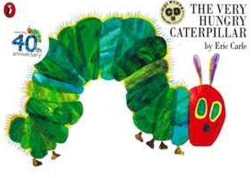 The Very Hungry Caterpillar 英語絵本とmpiオリジナルCD付き