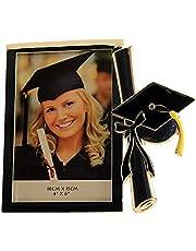 Graduation Cap Rectangular Photo Frame