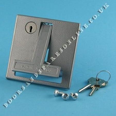 Henderson Merlin Flush Lock Garage Door Handle Spares Parts