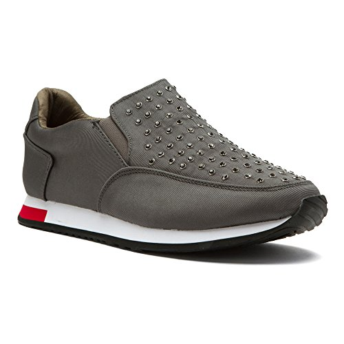 Sneakers Inyo Moda Donna Gioia E Mario Grigio Scuro