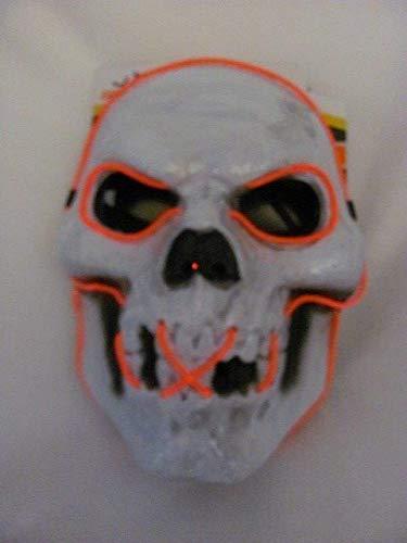 Gatton New! Skull Red Light Up Halloween Costume