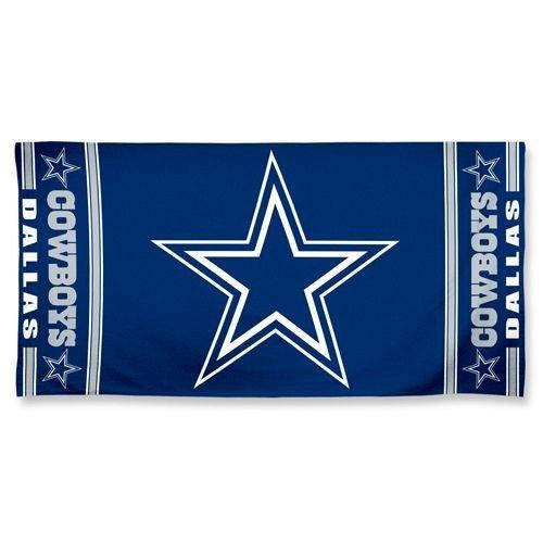 NFL Dallas Cowboys A1874215 Fiber Beach Towel, 9 lb/30