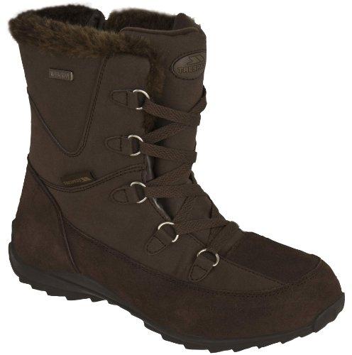 Trespass Zima - Zapatillas de deporte de invierno para mujer marrón - marrón