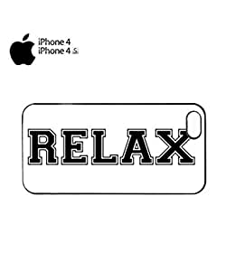 Relax Easy What Dope ASAP Mobile Cell Phone Case Cover iPhone 4&4s Black