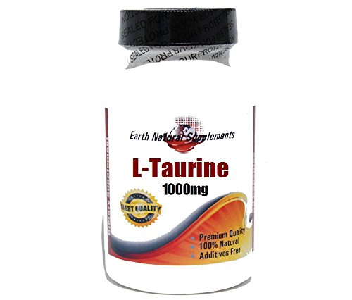 L-Taurine 1000mg * 100 Caps 100 % Natural - by EarhNaturalSupplements