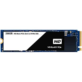 WD Black 256GB Performance SSD - 8 Gb/s M.2 PCIe NVMe Solid State Drive  – WDS256G1X0C
