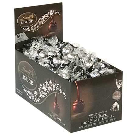 Lindor Truffles 60% Extra Dark Chocolate Box