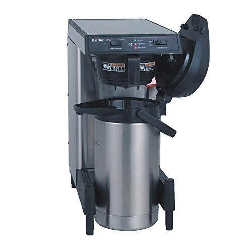 Airpot Coffee Brewer with Adjustable Legs, Low Profile (Low Airpot Profile)