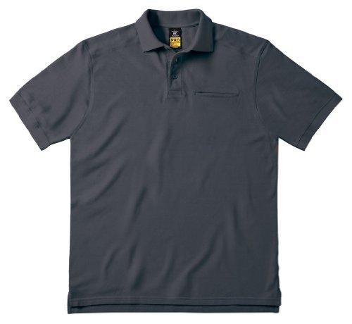 Arbeits-Poloshirt 'Skill Pro' mit Brusttasche, Farbe:Dark Grey;Größe:S S,Dark Grey