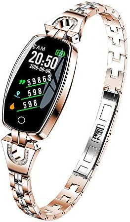 Pumsun Smartwatches Blood Pressure/Heart Rate Monitor Smart Bracelet Watch Pedometer (Rose Gold)