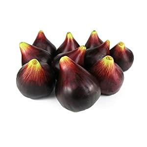 GuCra Artificial Fruit, Fig 10 pcs Pack, Fruit Model, Figs (EX) 91