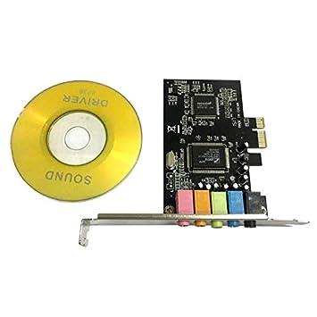 HoganeyVan PCI-E PCI Express 6 Canales 5.1 CMI8738 Audio ...