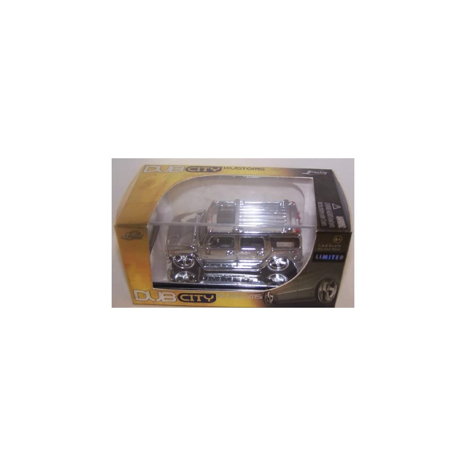 Jada Toys 1/64 Scale Diecast Dub City Kustoms Limited Edition Chrome