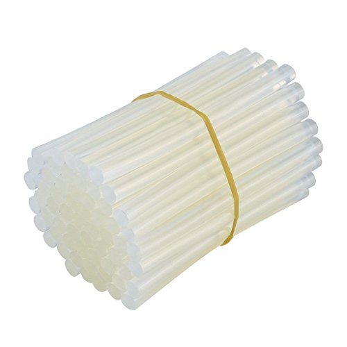 Zelta Transparent Hot Melt Glue Stick Adhesive Stick 5/16 x 4 Inch Mini Size (Set of 50)